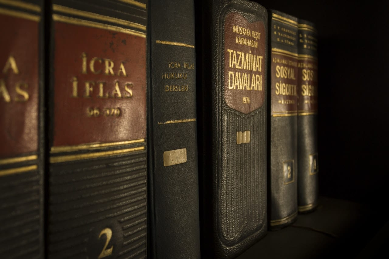 Photo Of Law Books